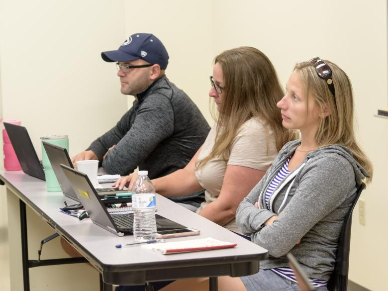 Students at the 2017 Summer Tech Institute