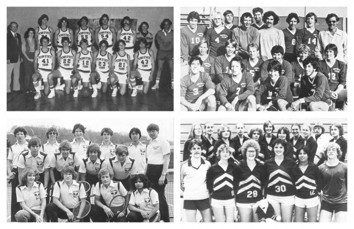Penn State York Sports Teams in 1980