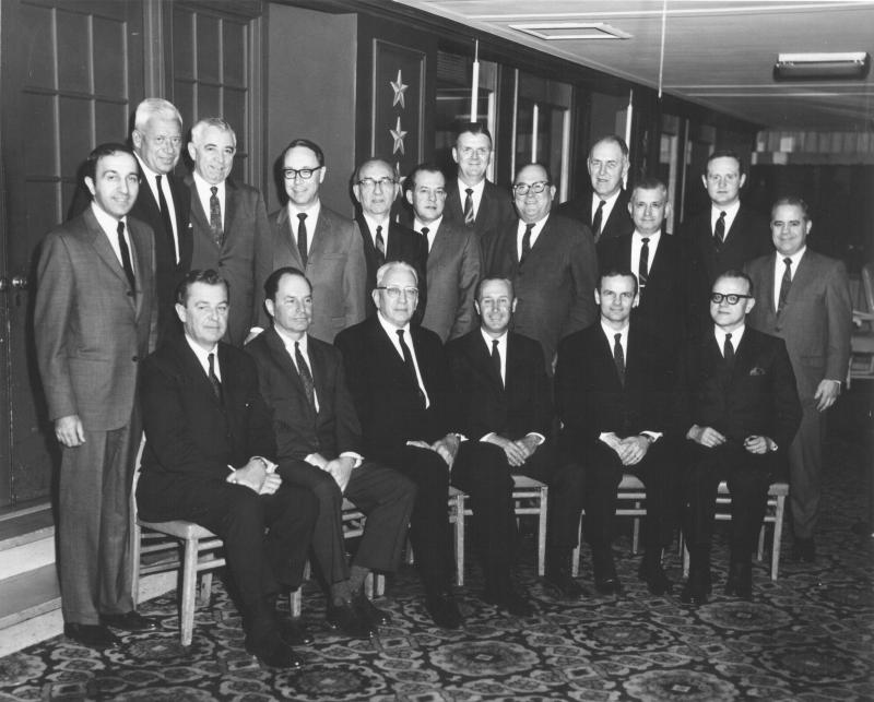 Advisory Board photo from the 1950s