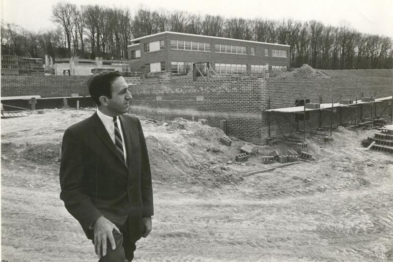 Edward M. Elias and early construction