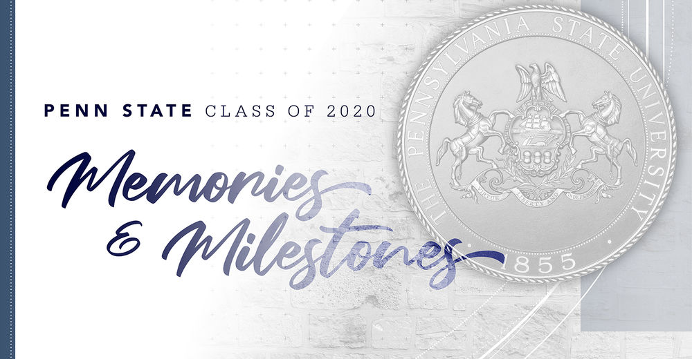 Penn State Memories and Milestones image with shield